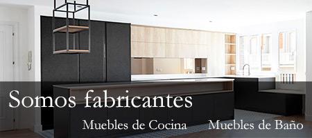Muebles de cocina y baño en San Lorenzo de El Escorial.