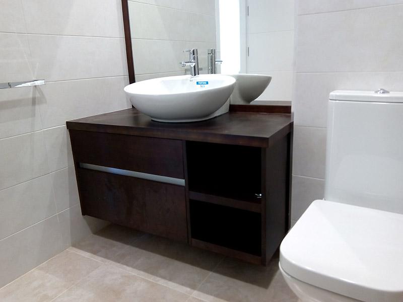 Fabricacion venta y montaje de muebles de ba o en madrid Muebles para banos johnson