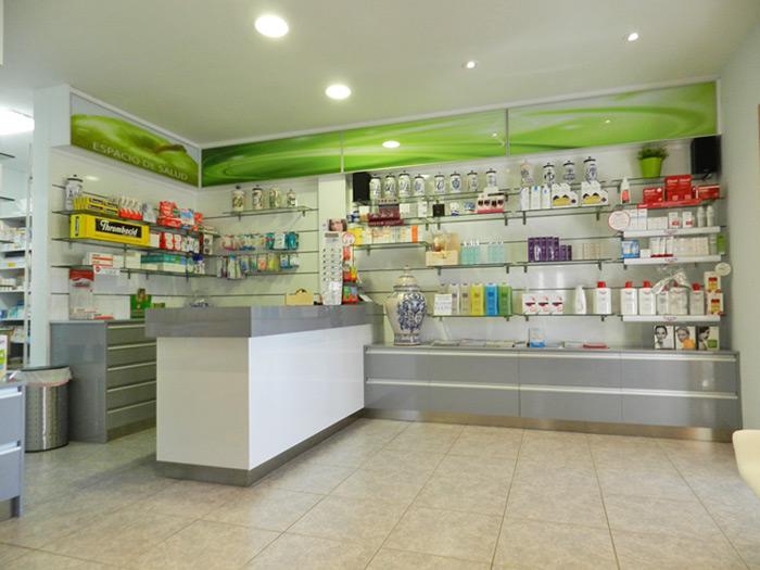 fabricacion venta y montaje de muebles de farmacias en