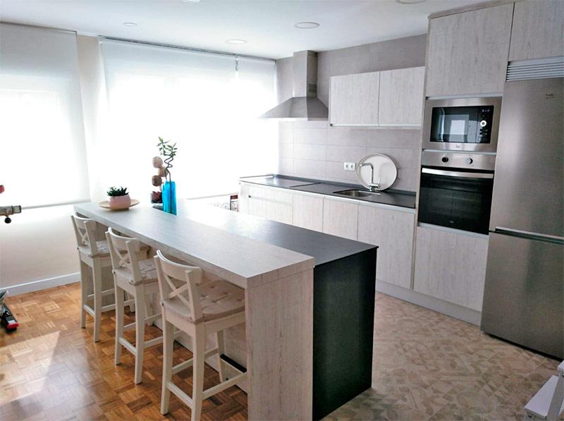 Muebles de cocina y ba o disdeco ideas for Cocina y bano juntos